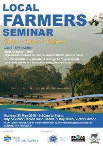 Farming Seminar VHCC